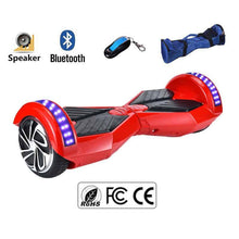 "Load image into Gallery viewer, 8"" Wheel Lamborghini Style Hoverboard Scooter - Red Colour"