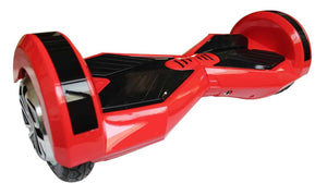 "8"" Wheel Lamborghini Style Hoverboard Scooter - Red Colour"