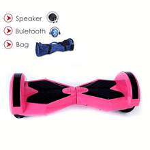 "Load image into Gallery viewer, 8"" Wheel Lamborghini Style Hoverboard Scooter - Pink"
