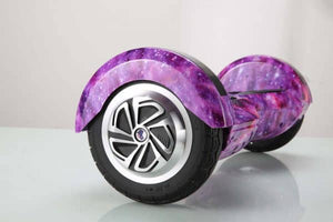 "8"" Wheel Lamborghini Style Hoverboard Scooter - Purple Galaxy"