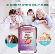 Load image into Gallery viewer, Luxfume® Hand Sanitizer - 75% Alcohol Anti-Bacterial Sanitizer - 60ml - Pack of 3