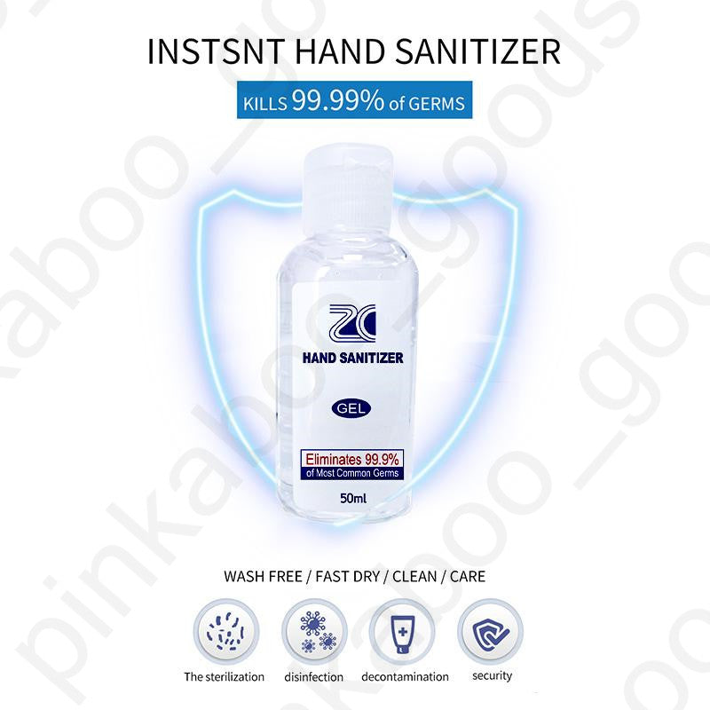 Hand Sanitiser - 75% Alcohol Anti-Bacterial Sanitiser - 500ml - Pack of 5
