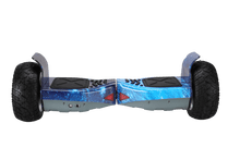 Load image into Gallery viewer, Off Road Hoverboard NS8 Model - Blue Galaxy