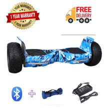 Load image into Gallery viewer, Off Road Hoverboard NS8 Model - Camouflage Blue