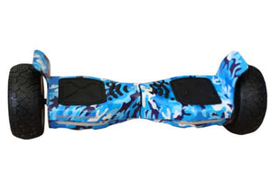 Off Road Hoverboard NS8 Model - Camouflage Blue