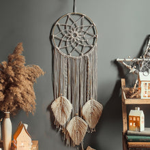 Load image into Gallery viewer, Nordic Star Moon Macrame Dream Catcher Room Decoration Boho Room Decor  Girls Kids Room Nursery Gifts