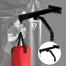 Load image into Gallery viewer, Training Hanging Punch Boxing Bag Stand Rack Holder Steel Wall Mount Bracket AU