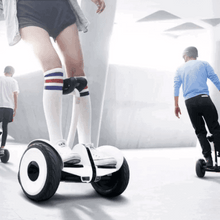 Load image into Gallery viewer, Self Balancing 10 inch Mini Robot Scooter with Bluetooth & Handle – Black