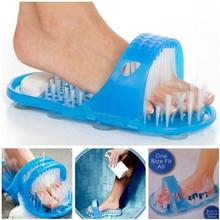 Load image into Gallery viewer, Cleaning Brush Exfoliating Foot Shower Slippers