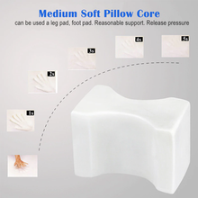 Load image into Gallery viewer, SleepWellness™ Orthopedic Memory Foam Knee Pillow