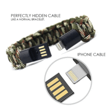 Load image into Gallery viewer, USB Cable Bracelet