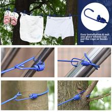 Travel Clothesline With Clothespin