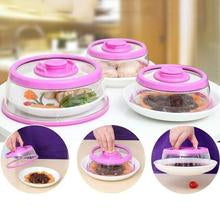Load image into Gallery viewer, Vacuum Food Sealer Kitchen Instant Food Sealing Cover in 4 colors