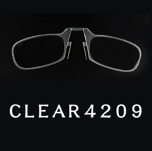 Clip Nose Mini Reading Glasses for women & for men