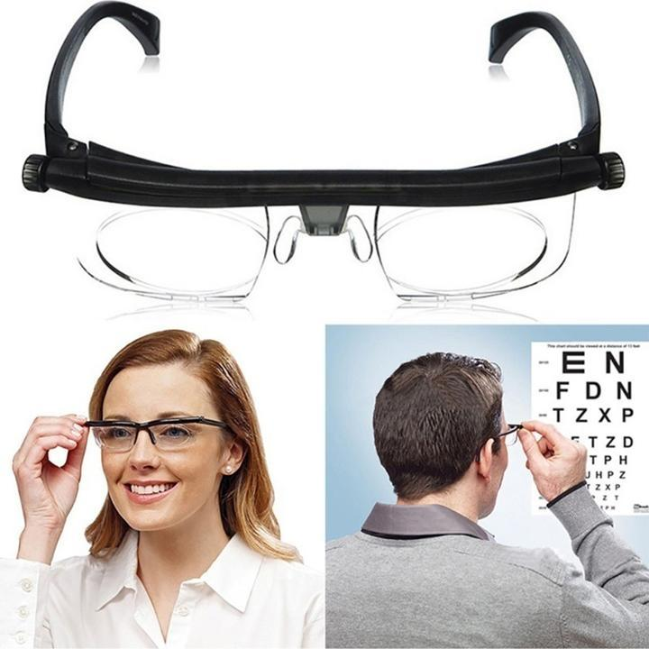 THE WORLD'S FIRST ADJUSTABLE EYEGLASSES