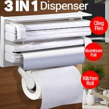 Three-way Roll Holder and Dispenser