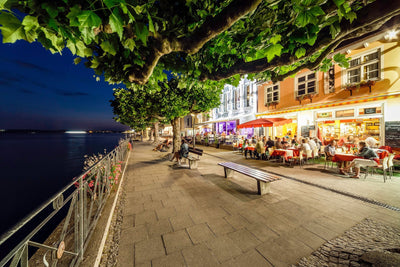 Meersburg by night