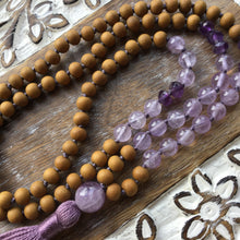 Load image into Gallery viewer, HARMONY WITHIN | 108 Mala Bead Necklace