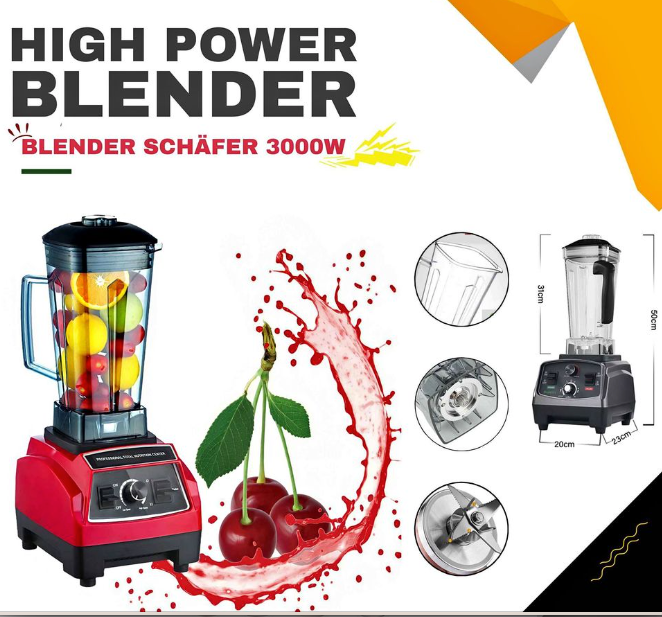الخلاط الوحش Schafer (3000 w)