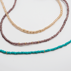 Beaded Stacking necklace
