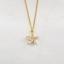 Load image into Gallery viewer, Star Baguette Necklace