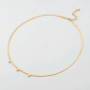 Lucky Flat Chain Necklace