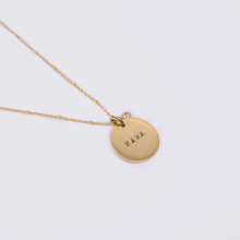 Load image into Gallery viewer, Mama Coin Necklace - Ball Chain