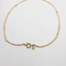 Load image into Gallery viewer, Nautical Pearl Necklace
