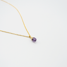 Load image into Gallery viewer, Long Amethyst Necklace