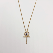 Load image into Gallery viewer, Feminine Birthstone Necklace