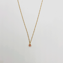 Load image into Gallery viewer, Birthstone necklace