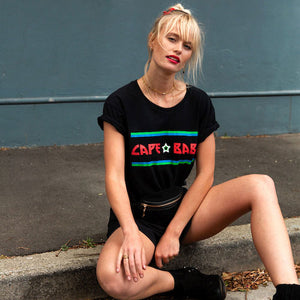 Cape Babe - Rock N Roll T-shirt