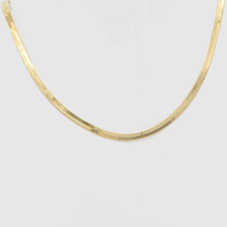 Chunky Flat Chain Necklace