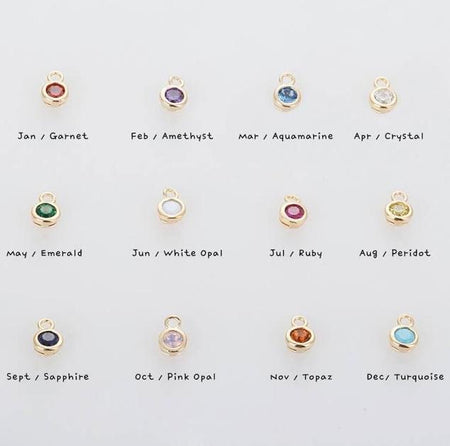 Additional birthstone