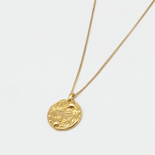 Load image into Gallery viewer, Rose Coin necklace
