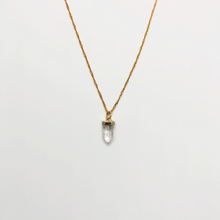 Load image into Gallery viewer, Rock Crystal necklace