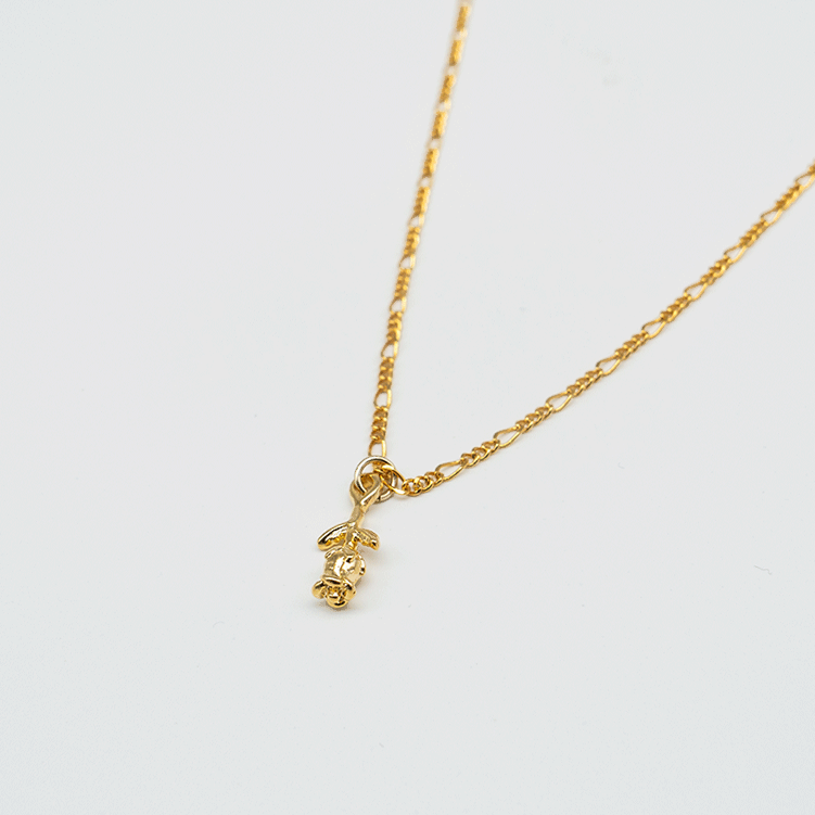 Tiny Rose necklace