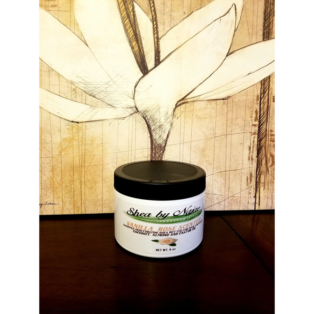 Vanilla-Rose Scented Shea Butter