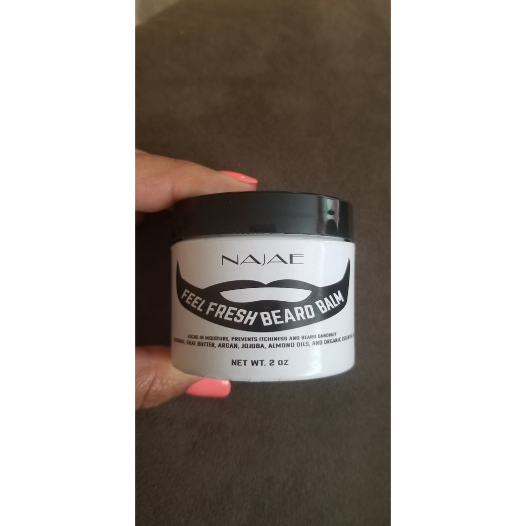 Feel fresh Beard balm for men