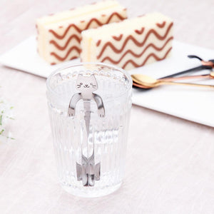 High Quality Stainless Steel Cat Coffee Spoon