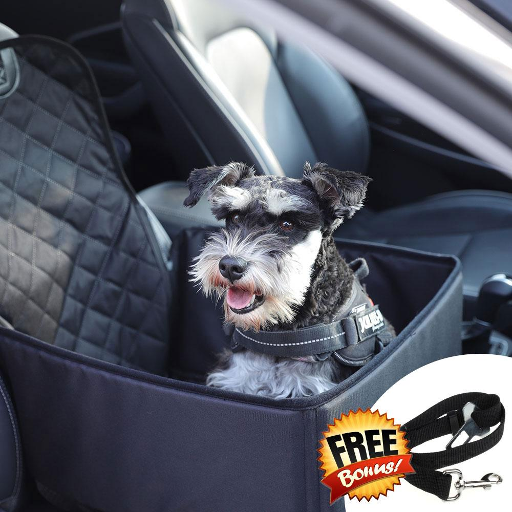 3 In 1 Deluxe Pet Single Seat Car Cover Nifty Pets
