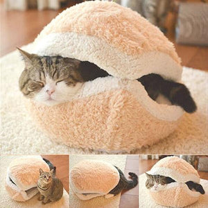 Cat House Hamburger Bed