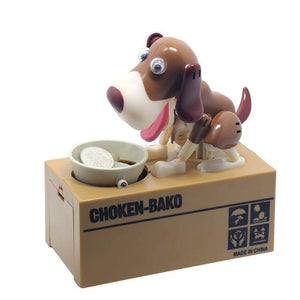 My Dog Piggy Bank - Robotic Coin Munching Toy Money Box