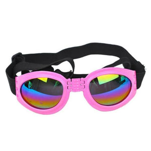 Protective Foldable Dog Sunglasses for Outdoor Activities