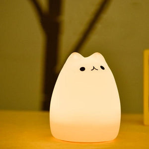 Premium Color Changing Cat Touch Lamp