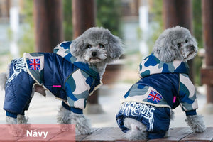 Camouflage Dog Waterproof Jacket