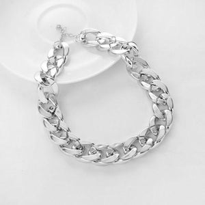 Metal Twisted Snake Chain Collars