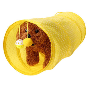 Funny Cat Tunnel Toy