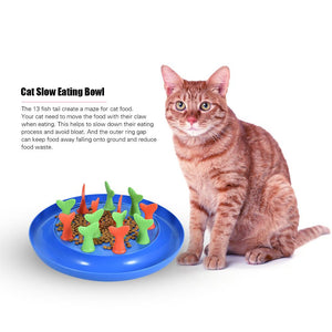 Slow Feeder For Cats