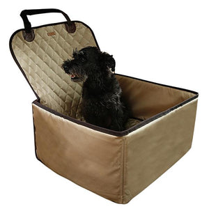 3 in 1 Deluxe Pet Single-Seat Car Seat Cover
